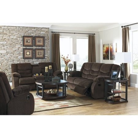 Fine Ashley Garek 3 Piece Fabric Reclining Sofa Set In Cocoa Andrewgaddart Wooden Chair Designs For Living Room Andrewgaddartcom