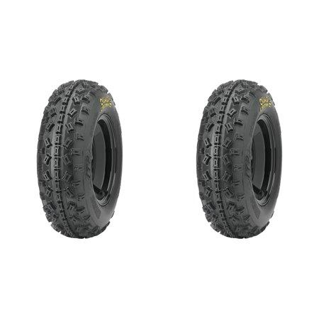 Set of 2 ITP Quadcross MX2 Standard Button Version Front Tires 20x6-10 - Itop Button