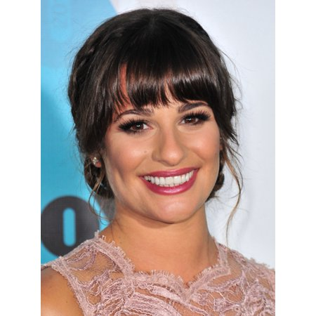 Lea Michele At Arrivals For Fox Network Upfronts Presentation 2012 Canvas Art     16 X 20