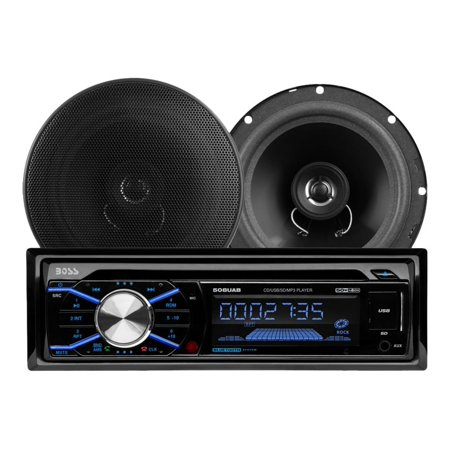 Usb Memory Bluetooth - 656BCK Package Includes 508UAB Single-DIN AM/FM CD Receiver With Bluetooth, USB and SD Memory Card Ports Plus One Pair of 6.5 inch Speakers Bluetooth enabled