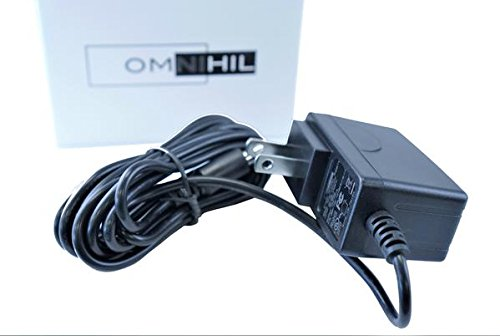 Omnihil AC//DC Power Adapter Compatible with Hallomall 15W 24LED Spotlights Work Lights Outdoor Camping Lights Power Supply