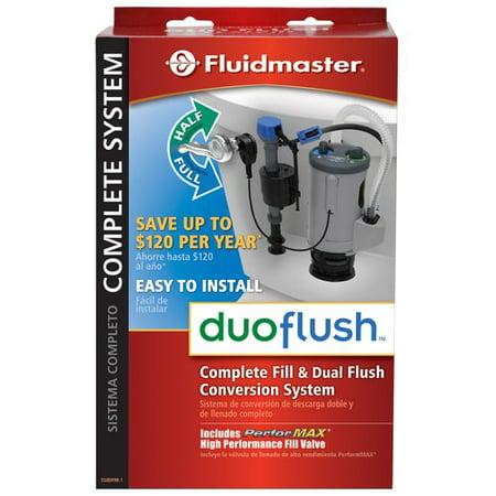 Fluidmaster Duoflush System Complete Kit