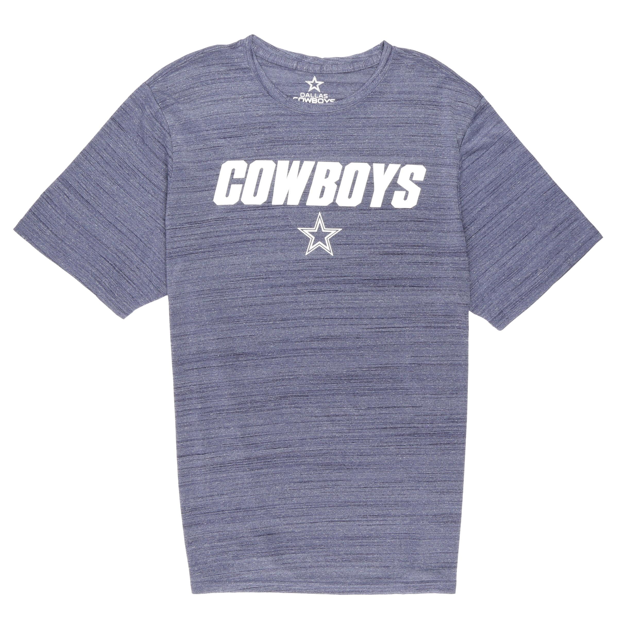 NFL Dallas Cowboys Men's Rusty Short Sleeve Performance Tee Shirt