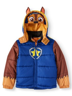 Paw Patrol Hooded Costume Puffer Jacket (Little Boys)