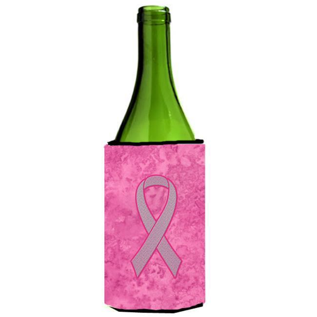 Carolines Treasures AN1205LITERK Pink Ribbon for Breast Cancer Awareness Wine bottle sleeve Hugger  24 Oz. - image 1 de 1