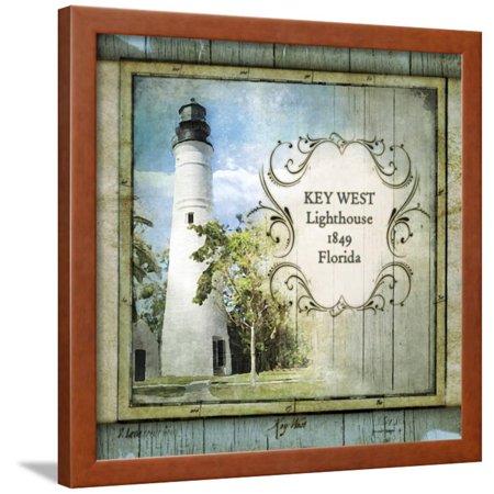 Lighthouse Florida Usa Framed (Florida Lighthouse VI Framed Print Wall Art By Beth Anne)