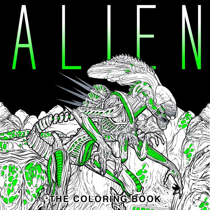 Alien: The Coloring Book (Paperback)