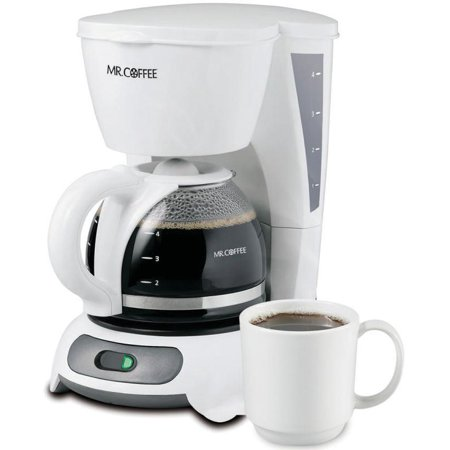 Mr Coffee White Coffee Maker - Mr. Coffee Simple Brew 4-Cup Switch Coffee Maker, White TF4 Series
