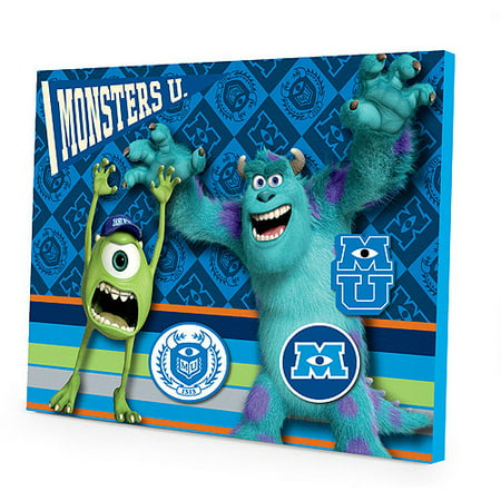 disney pixar monsters university magnetic wall art set walmart com