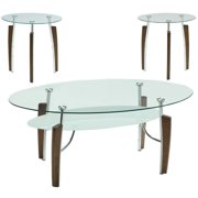 3PC TABLE SET, CAPPUCCIN;O, 48.00 X 26.50 X 20.00