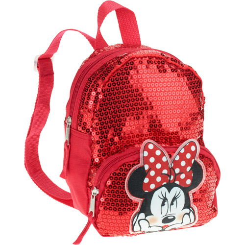Disney Minnie Mouse Mini Sequin Backpack