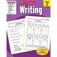 Scholastic Success with Writing, Grade 2 (Paperback)
