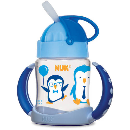 Nuk Straw Learner Cup, 5 Oz, BPA Free