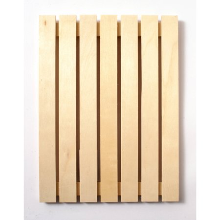 Plaid Wood Surfaces, Small Pallet Plaque, size: 9 1/2 \