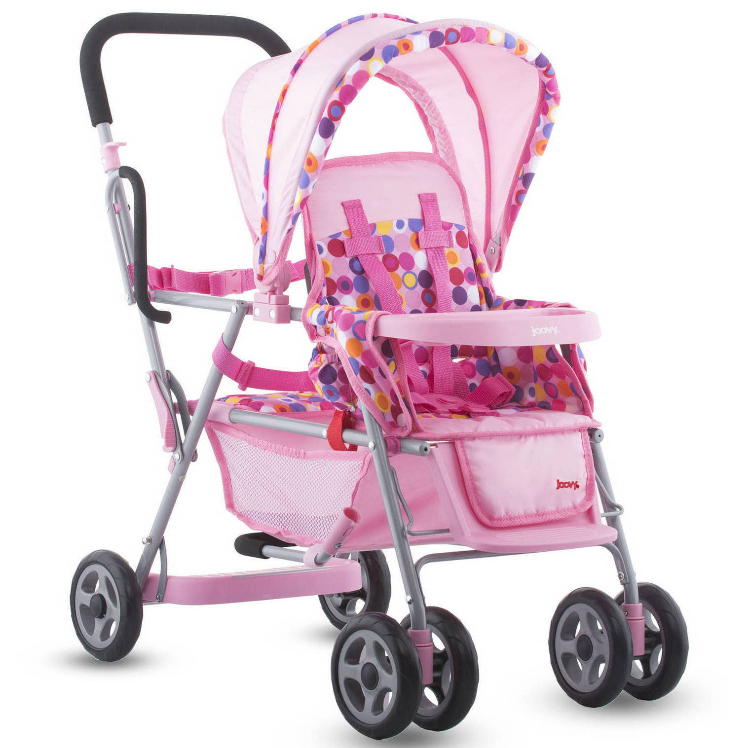 Joovy Caboose Toy Stroller Baby Doll Stroller, Pink