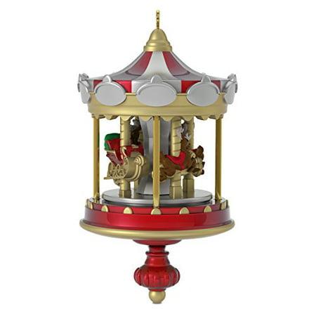 Hallmark Miniature Carousel #1 Keepsake Christmas Ornament