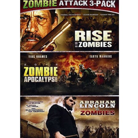 Abraham Lincoln Vs. Zombies / Zombie Apocalypse / Rise Of The Zombies (Widescreen)