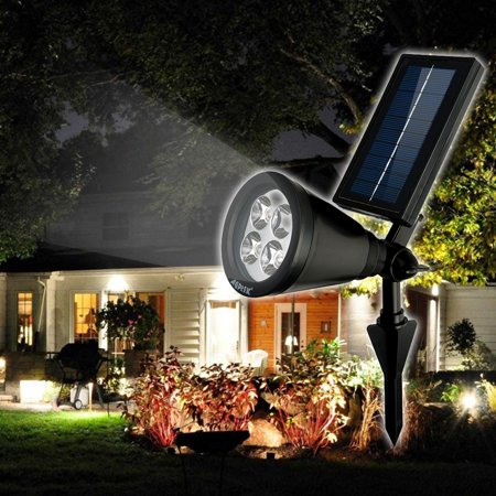 - Bright Solar LED Reable Waterproof Solar Powered Spotlight For Garden Pool Pond Yar