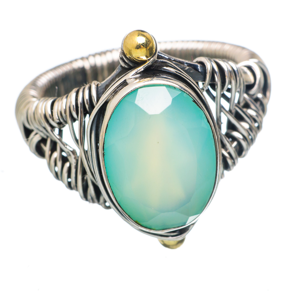 Ana Silver Co Faceted Apatite 925 Sterling Silver Ring Size 9 RING783866