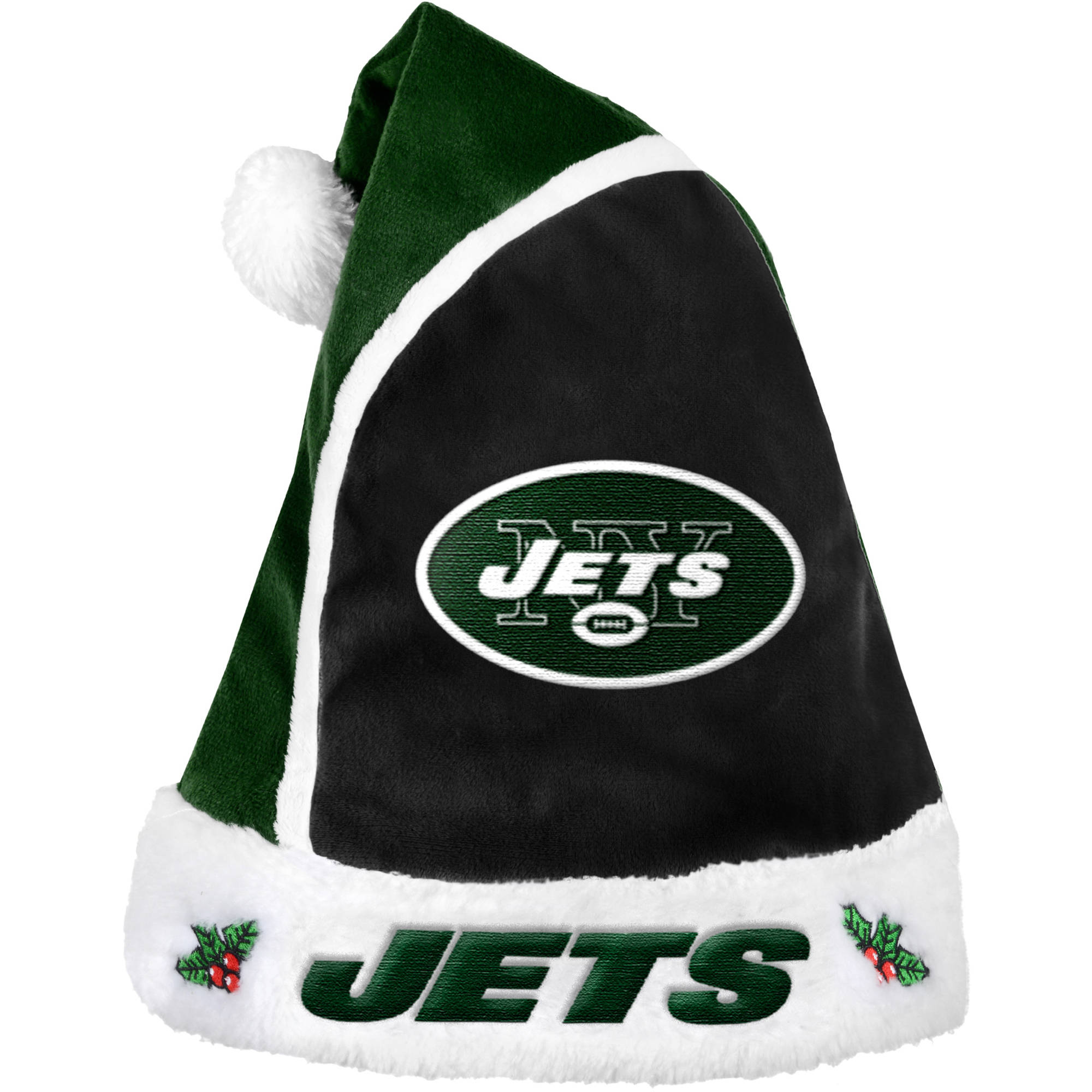 forever collectibles nfl 2015 santa hat new york jets