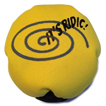 It's Ridic! Round Pop Pellet Filled 2-panel Hacky Sack Footbag ()