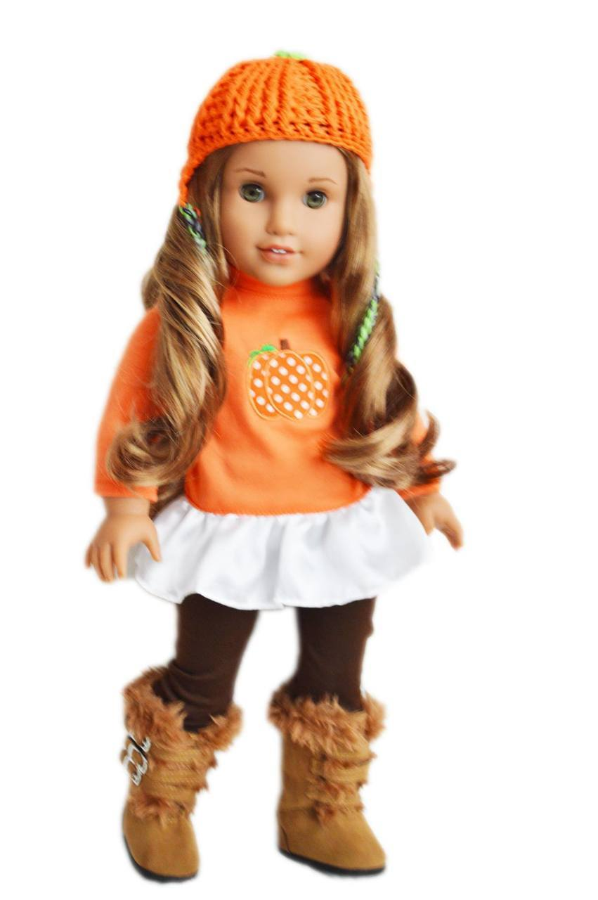 My Brittany's Pumpkin Outfit For American Girl Dolls by