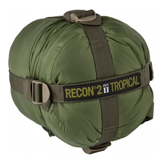 Elite Survival Systems Recon 2 Sleeping Bag Olive Drab Rated To 41 Degrees Fah