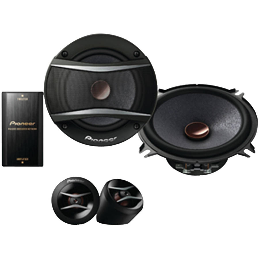 "Pioneer TS-A1306C 5.25"" A-Series 300-Watt Component Speakers"