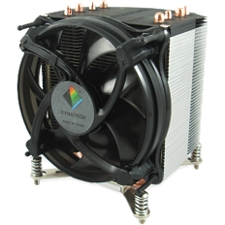 Dynatron Cooling Fan/Heatsink - 1 x 92 mm - 2500 rpm - Dual Ball Bearing - Socket R LGA-2011 Compatible Processor Socket