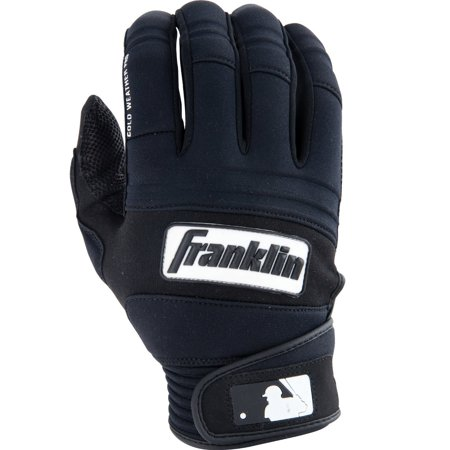 Franklin Sports - Cold Weather Pro Batting Gloves Insulated Neoprene Pro Series