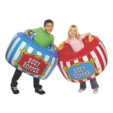 Fun Express - Carnival Body Boppers - Toys - Inflates - Inflatable Games - 2 Pieces - Inflatable Body