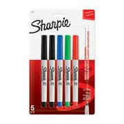 Sharpie Ultra Fine Point Permanent Markers 5/Pkg-Red Blue Green & 2 Black
