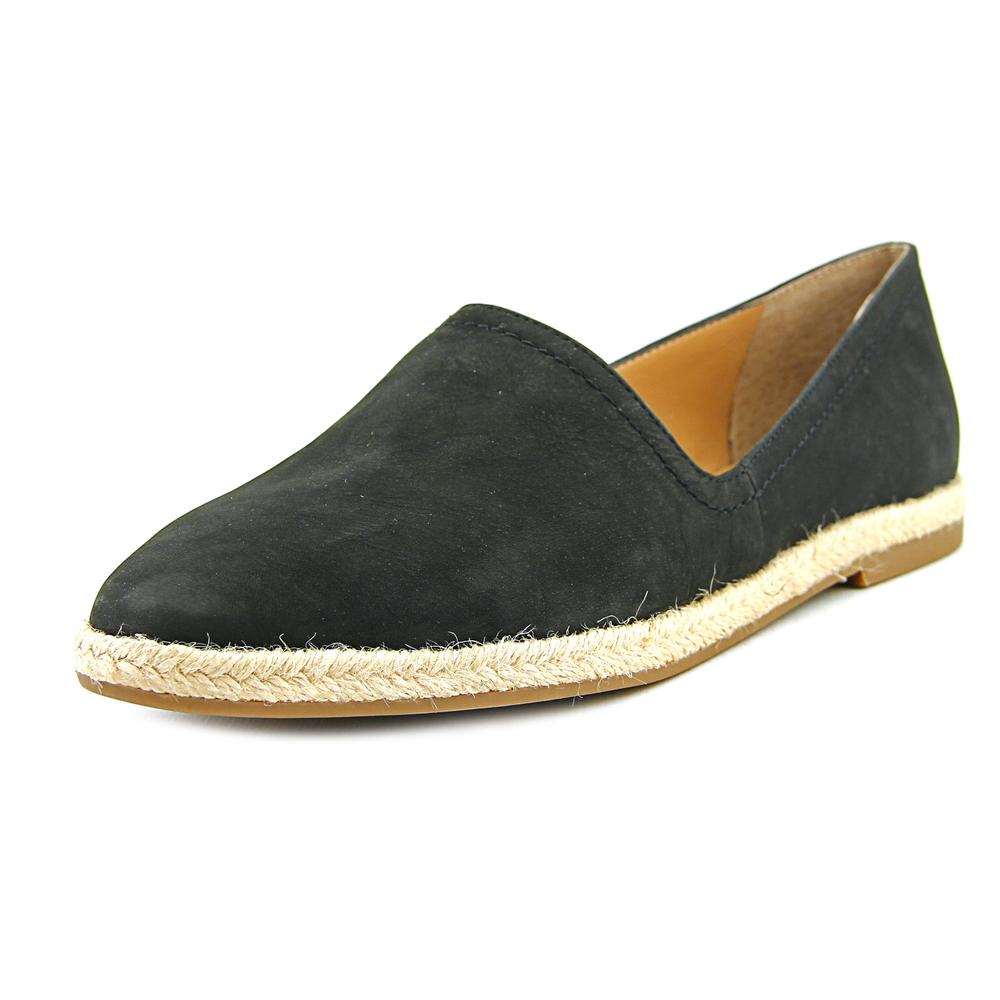 Franco Sarto Ironic Round Toe Leather Flats by Franco Sarto