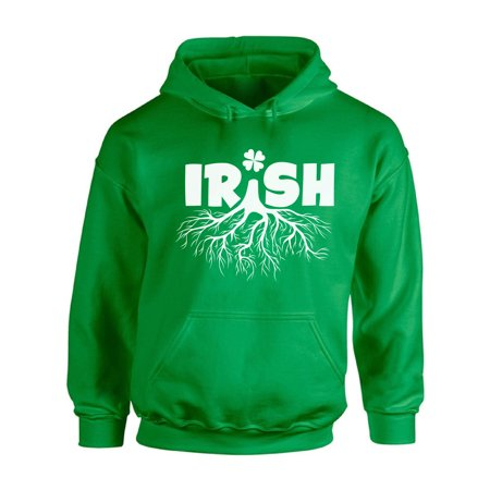 Awkward Styles Irish Tree Hooded Sweatshirt Irish Roots Hoodie St. Patrick's Day Hoodie Sweaters for Men and Women Irish Gifts St. Patrick Outfit Irish American Sweatshirt Hoodie Irish