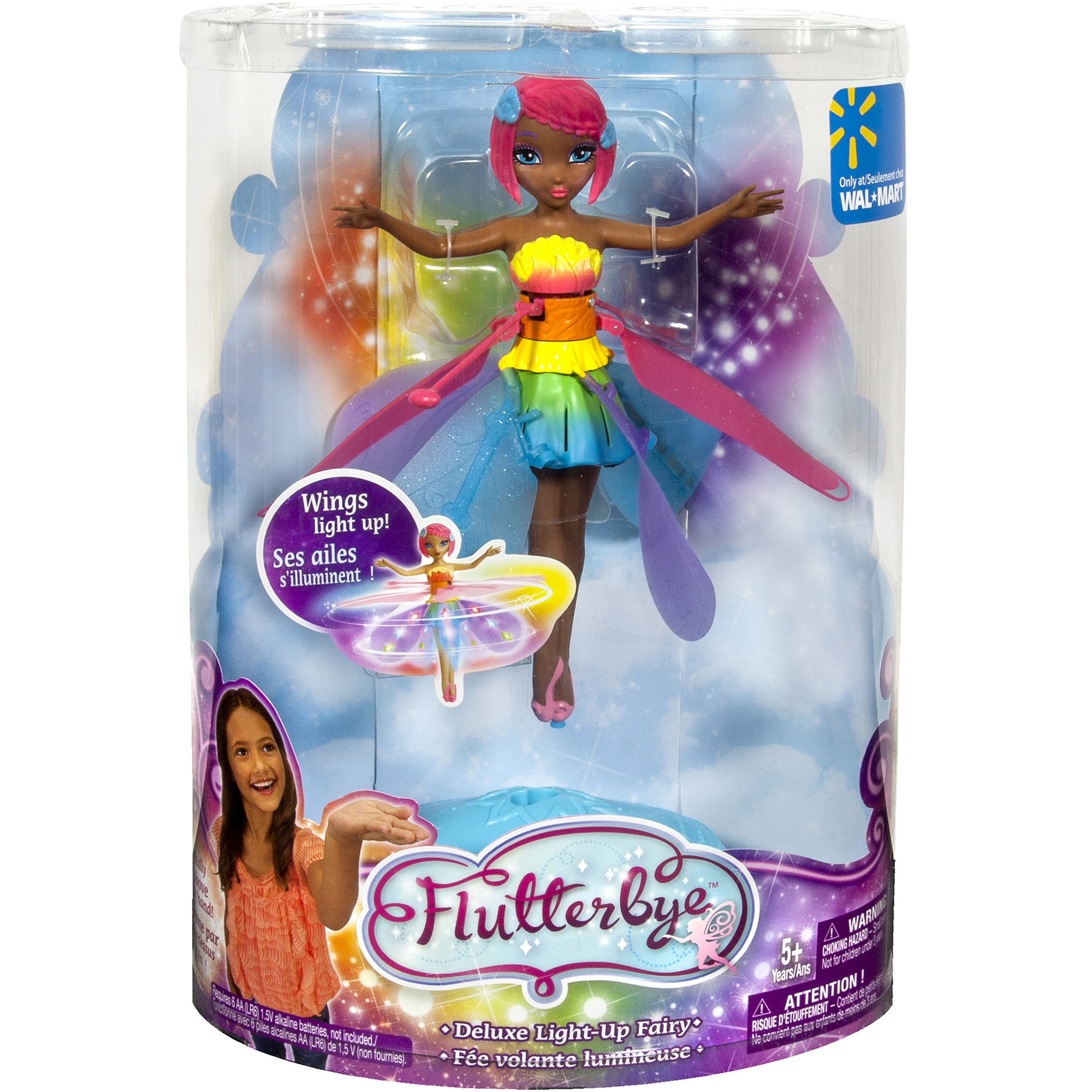Deluxe Light Up Flutterbye Fairy Walmart