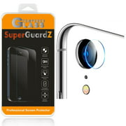 [2-Pack] For Back Camera Of iPhone XR - SuperGuardZ Tempered Glass Screen Protector, Anti-Scratch, 9H Hardness, Anti-Bubble, Anti-Shock