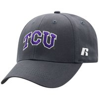 Men's Russell Athletic Charcoal TCU Horned Frogs Endless Adjustable Hat - OSFA