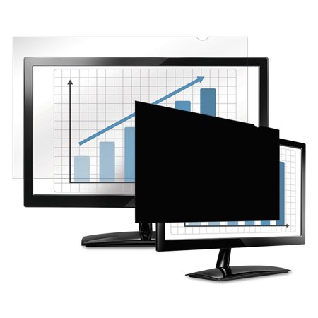 "Fellowes PrivaScreen Blackout Privacy Filter for 17"" Widescreen LCD/Notebook, 16:10"