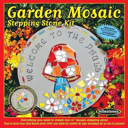 Milestones Garden Mosaic Stepping-Stone Kit