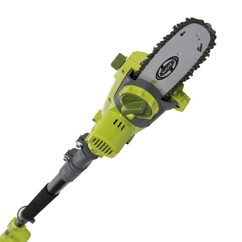 "Sun Joe iON 40V Cordless 8"" Pole Chain Saw, iON8PS"
