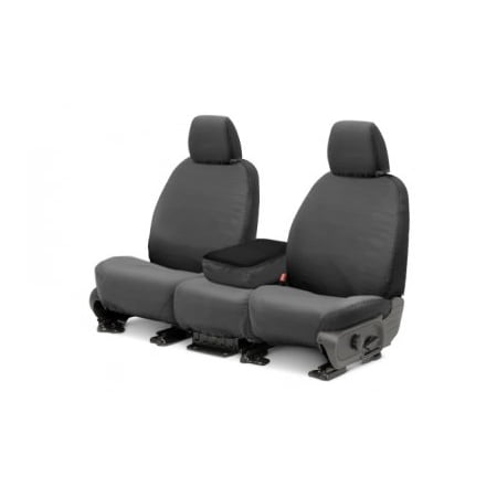 Covercraft SeatSaver Front Row Custom Fit Seat Cover for Select Ram 1500 Models - Polycotton (Front Row Seat)
