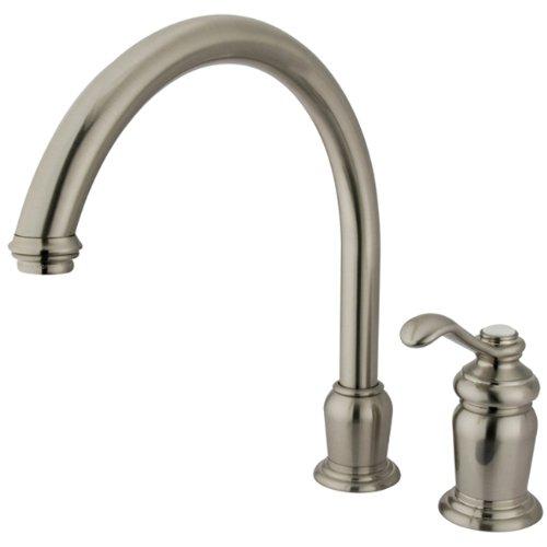 Kingston Brass Templeton Single Handle High Spout Kitchen Faucet without Brass Sprayer - image 1 de 1