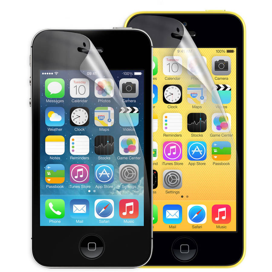 GEMS Dual Screen Guard for Apple iPhone 4/5