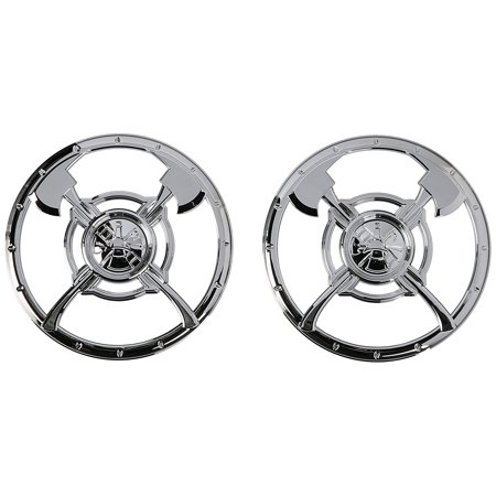 3753 Firefighter Speaker Grille, Add some visual punch to your speakers By Kuryakyn Ship from US