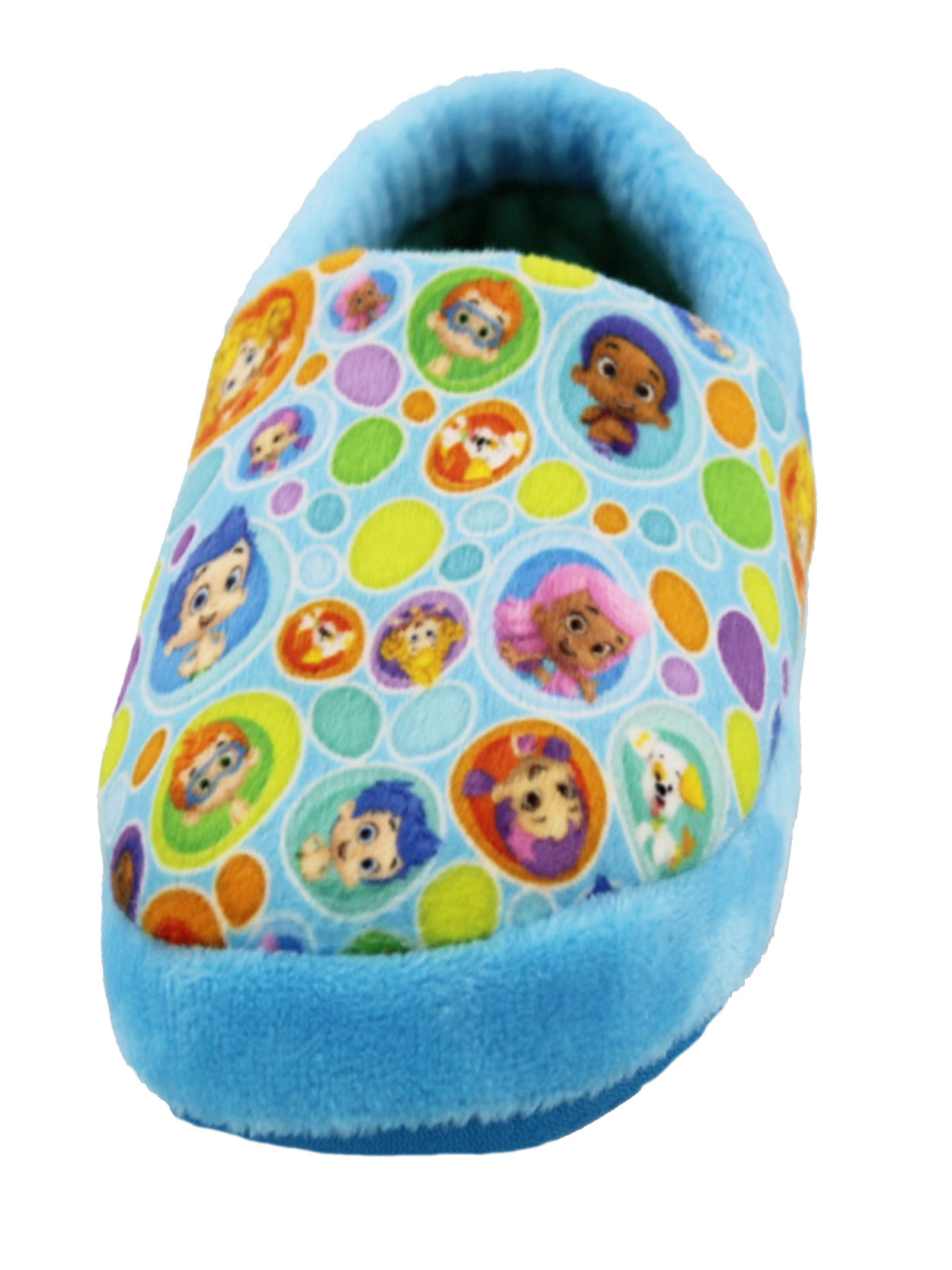 Bubble Guppies Toddler Boys Girls Plush A-Line Slippers