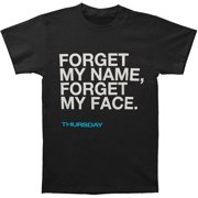 Thursday Men's  Forget My Name T-shirt Black