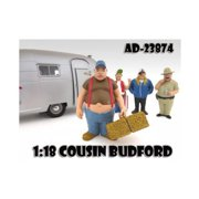 American Diorama 23874 Cousin Budford Trailer Park Figure for 1-18 Scale Diecast Model Cars
