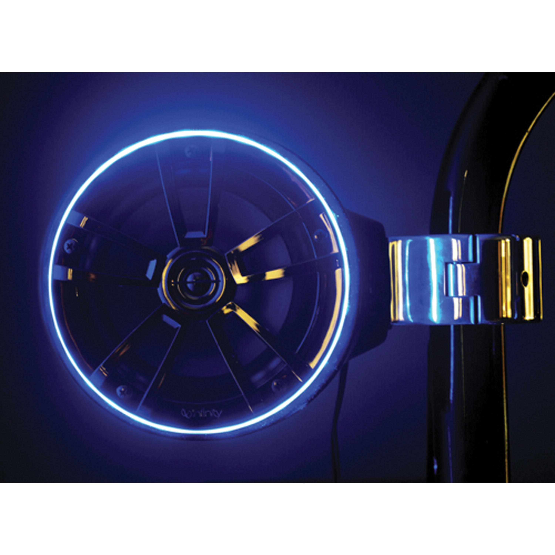 T-H Marine LED-SMSKR-B-DP LED Speaker Accent Ring - Blue