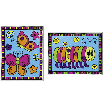 My First Painting by Numbers - Happy Bugs - 2 pieces