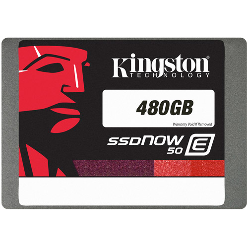 Kingston 480GB SSDNow E50 SSD, SATA 3, 2.5""